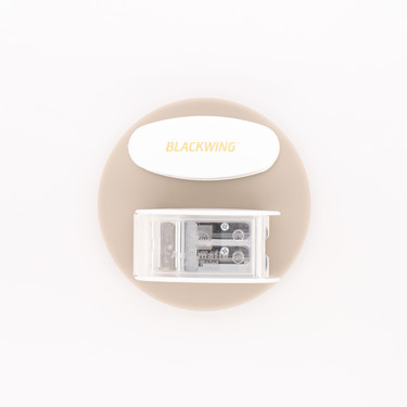 Palomino Blackwing Long Point Sharpener White