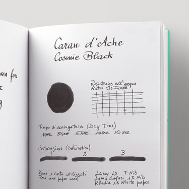 Caran d'Ache Cosmic Black Ink Bottle 50 ml