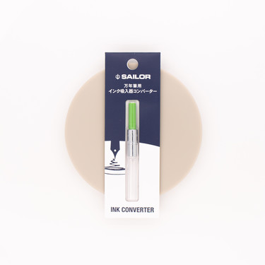 Sailor Fountain Pen Converter Yellow-Green