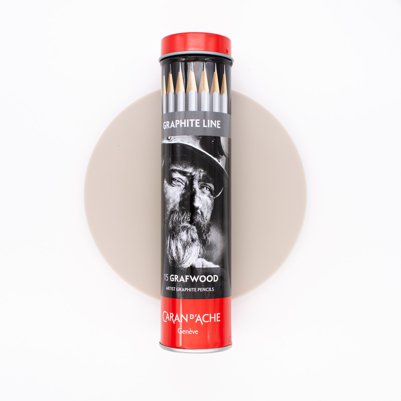Caran d'Ache Box of 15 Pencils Graphite Line with all Hardness Degrees