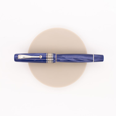 Montegrappa Ammiraglio 1939 Fountain Pen Glittering Blue Celluloid