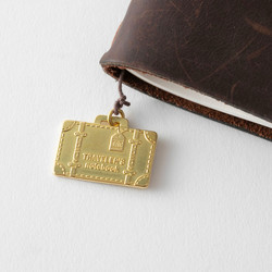 Traveler's Notebook Brass Charm Travel Tools Limited Edition