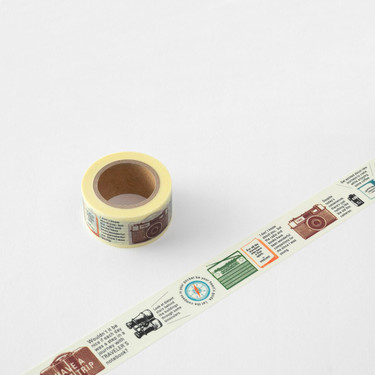 Traveler's Notebook Masking Tape Travel Tools Limited Edition