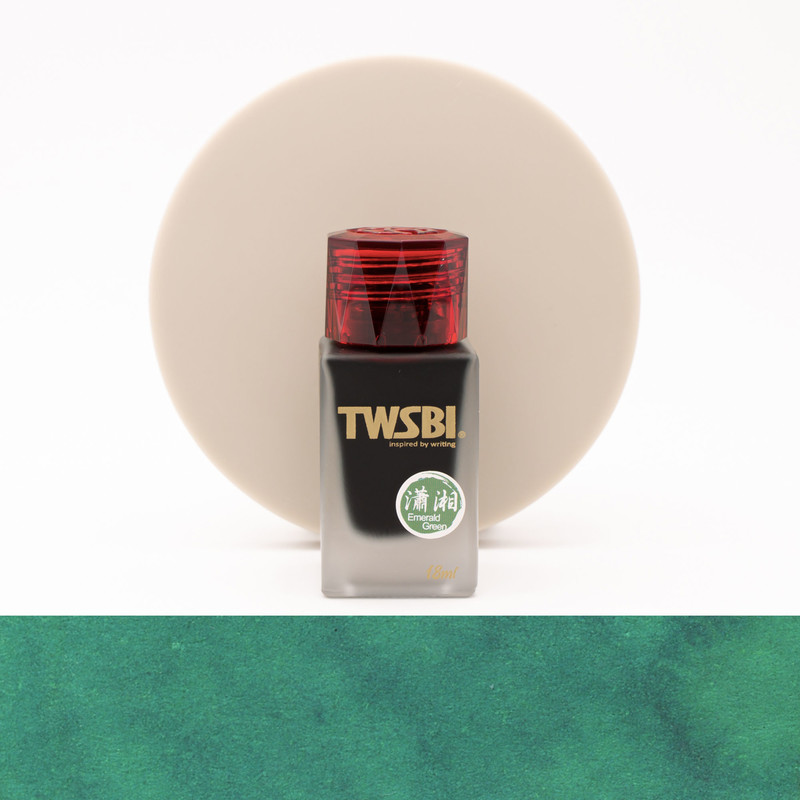 Twsbi 1791 Emerald Green Ink Bottle 18 ml Limited Edition