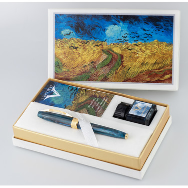 Visconti Van Gogh Fountain Pen Wheatfield with Crows Limited Edition