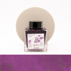 Sailor Manyo Akebi Ink Bottle 50 ml