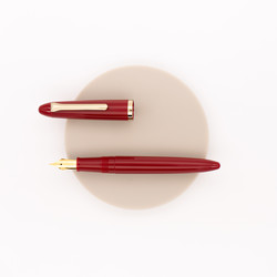 Sailor 1911 Profit Professor Fountain Pen Red