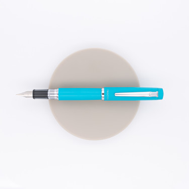 Platinum Procyon 100th Anniversary Fountain Pen Turquoise Blue Special Edition