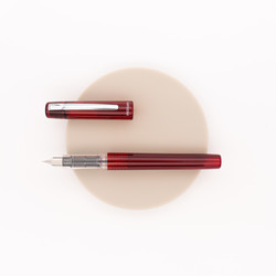 Platinum Prefounte Fountain Pen Crimson Red