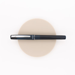 Platinum Prefounte Fountain Pen Graphite Blue
