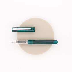 Platinum Prefounte Fountain Pen Dark Emerald