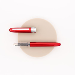 Platinum Plaisir Fountain Pen Red