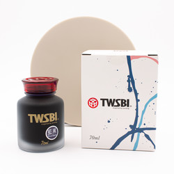 Twsbi Blue Black Iron Gall Ink Bottle 70 ml