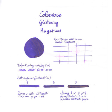Colorverse Glistening Hayabusa Ink Bottle 30 ml