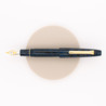 Sailor King of Pen Naginata Togi Fountain Pen Blue Wave Ebonite Limited Edition
