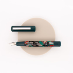 Opus 88 Flow Fountain Pen Green
