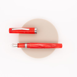 Leonardo Officina Italiana Messenger Fountain Pen Red Limited Edition