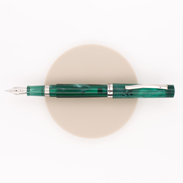 Leonardo Officina Italiana Messenger Fountain Pen Green Limited Edition