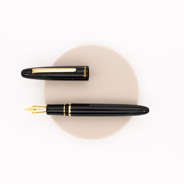 Esterbrook Estie Fountain Pen Ebony & Gold