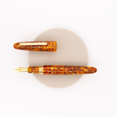 Esterbrook Estie Oversized Fountain Pen Honeycomb & Gold