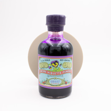 Herbin Violette Pensee Ink Bottle 500 ml 350th Anniversary Limited Edition