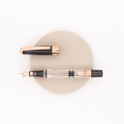 Twsbi Diamond 580 Fountain Pen Smoke Rose Gold II