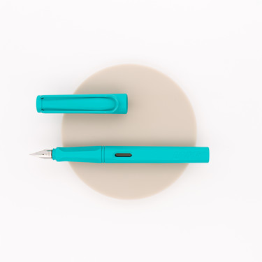 Lamy Safari Candy Fountain Pen Aquamarine 2020 Special Edition