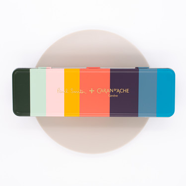 Caran d'Ache Supracolor Paul Smith 8 Colored Pencils Set Limited Edition