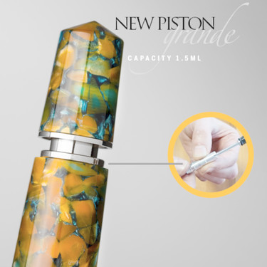 Leonardo Officina Italiana Momento Zero Grande 2020 Fountain Pen Sunflower