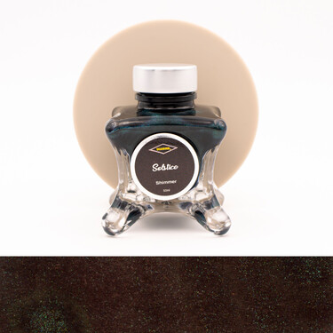 Diamine Inkvent Solstice Inchiostro 50 ml Blue Edition Shimmer