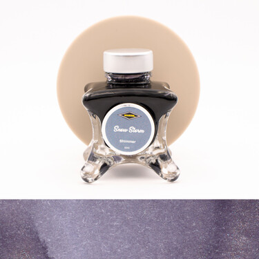 Diamine Inkvent Snow Storm Inchiostro 50 ml Blue Edition Shimmer