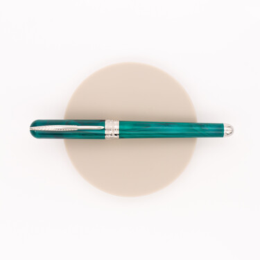 Pineider Avatar UR Fountain Pen Forest Green