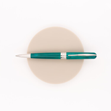 Pineider Avatar UR Ballpoint Pen Forest Green