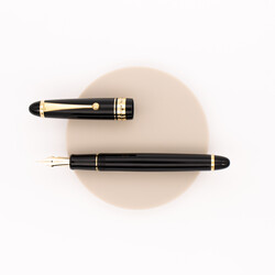 Pilot Custom 743 Falcon Fountain Pen Black