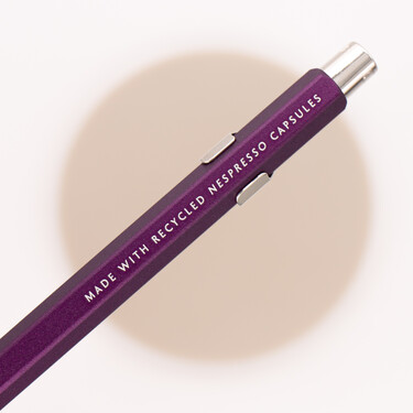 Caran d'Ache 849 Nespresso Edition 3 Ballpoint Pen Purple 2020 Limited Edition