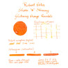 Robert Oster Shake 'N' Shimmy Glistening Orange Rumble Inchiostro 50 ml