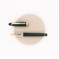 Aurora Ipsilon Demo Colors Fountain Pen Green & Gold