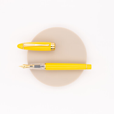 Aurora Ipsilon Demo Colors Fountain Pen Yellow & Gold