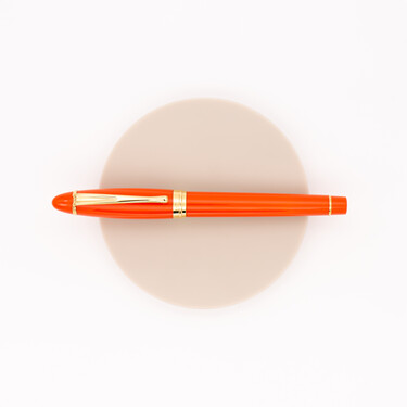 Aurora Ipsilon Demo Colors Fountain Pen Orange & Gold