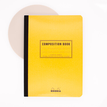 Rhodia Composition Book A5 Lined Orange