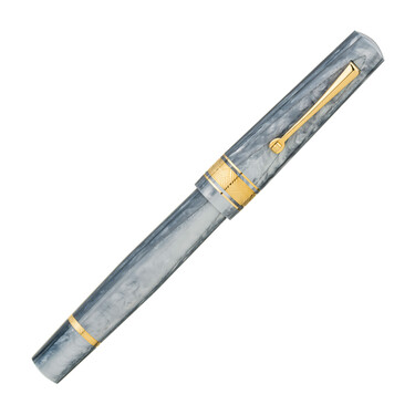 Leonardo Officina Italiana Cuspide Fountain Pen Mineral Grey & Gold Limited Edition