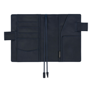 Hobonichi Techo Planner A6 Navy Set Cover + 2021 Diary