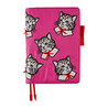 Hobonichi Techo Cousin A5 Candy Stripper: Spruced-up Cat Set Cover + 2021 Diary