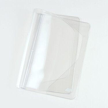 Hobonichi Cover on Cover for A5 Size Clear