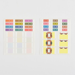 Hobonichi Index Stickers