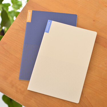 Hobonichi Memo Pad for Cousin Set of 2 Notebooks A5 Tomoe River Paper