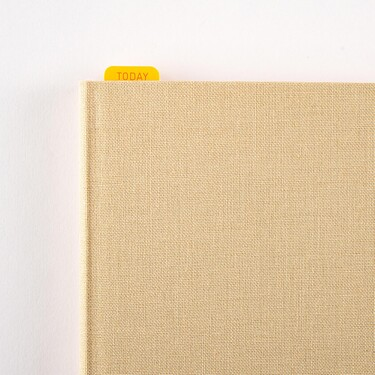 Hobonichi Pencil Board for Weeks Warm Red x Yellow