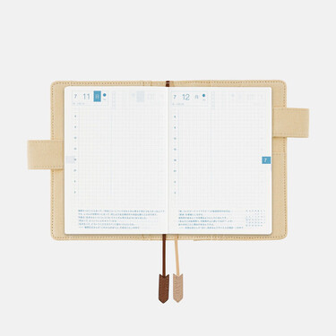 Hobonichi Techo Planner A6 Camp Set Cover + 2021 Diary