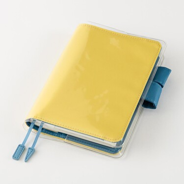 Hobonichi Cover on Cover for A6 Size Clear