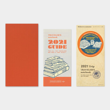 Traveler's Notebook Refill 2021 Monthly Diary Regular Size